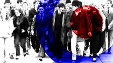 Quadrophenia Stretched Canvas Wall Art Poster Print Scooter mods dvd soundtrack