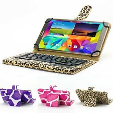 """Magnetic Bluetooth 3.0 Keyboard Case Cover For Universal 7""""- 8"""" Android Tablet"""