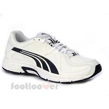 Shoes Puma Axis v3 SL 499 188329 04 Running man fitnes leather mesh white-black