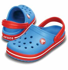 Kids, Childrens Original Crocband™  Crocs™. Ocean/Red,  Surf/Magenta or Navy.