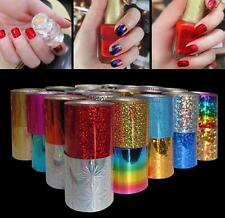 12 Colors Nail Art Transfer Foil Sticker for Nail Tips Decoration  DIUS