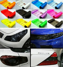 Auto Car Smoke Fog Light Headlight Taillight Tint Vinyl Film Sheet Sticker Motor