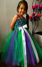 BRIDESMAID, PARTY,BIRTHDAY TUTU  TULLE DRESS  - SELECTION OF COLOURS AND SIZES