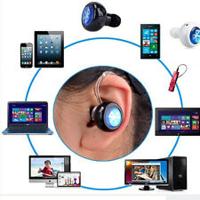 MiNi Bluetooth Wireless In-Ear Headphones Headset Stereo Mono Earphone CK