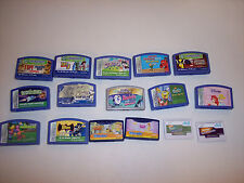 YOU CHOOSE original leapster/L-max/didj leap frog game lot MANY TO CHOOSE FROM