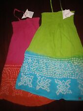 NWT Gorgeous Bandhani Convertible Sun Dress by Fromage et L'Orange 6 7 8 10