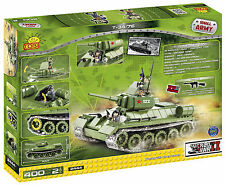Cobi Small Army World War 2 Tank 400 Brick Set T34 Matilda Puma Panther Katyusha