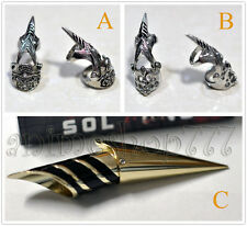 Bleach Soi Fong Cosplay BANKAI Sword fingertip Metal Ring Free Shipping