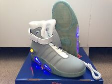 Back To The Future 2 BTTF Air Mag Marty McFly Light Up Shoes *NEW* Sz 9 10 12 13