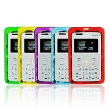New Ultra Slim Bands Mini transparent MP3 Bluetooth Card Cell Mobile Phone MKLG