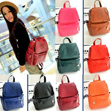 Fashion Women's Leather Travel Satchel Shoulder Bag Backpack School Rucksack New