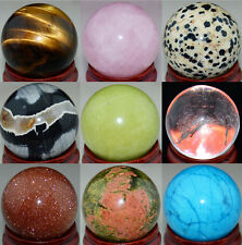 30mm Natural Gemstone Sphere Crystal Ball Wholesale Lots