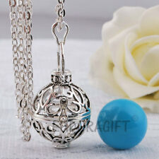 Necklace For Pregnant Women Harmony Ball Siver Locket Pendant With Chain
