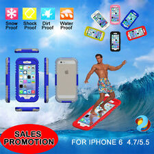 NEW Waterproof Shockproof snow Heavy Duty  Case Cover For Apple iPhone 6/6 Plus