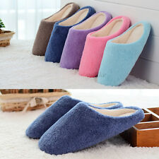 Women Men Winter Warm Non-slip Indoor Household Floor Comfort Slipper Soft Shoes