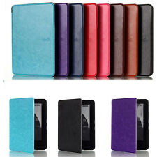 Glossy Retro E-reader Magnetic Case Cover For Amazon New Kindle 2014 Edition 6''