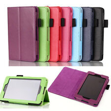 "PU LEATHER CASE STAND COVER FOR NEW AMAZON KINDLE FIRE HD 6 6"" 2014 TABLET PC"