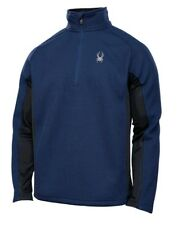 Spyder OUTBOUND Half Zip SWEATER Mid Weight CORE Fleece AUTHENTIC Mens NEW 2015
