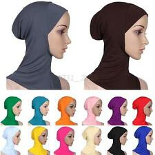 Newest Women's Cotton Muslim Full Cover Inner Hijab Caps Islamic Hats Underscarf