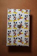 Mickey Mouse Light Switch Socket Cover set kids room baby nursery home decor boy