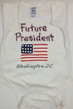 Future Presidents Baby Rompers