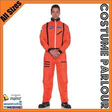 New Astronaut Spaceman Jumpsuit NASA Fancy Dress Costume All Sizes