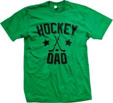 Hockey Dad Ice Roller Winter Bash Brothers Enforcers Support Coach Mens T-shirt