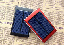 30000mAh Solar Panel Power Bank Dual USB External Battery Charger for iPhone