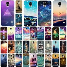 Hot Fashion Scenery Pattern Phone Case Cover fr Samsung Galaxy S4 i9500 S5 i9600