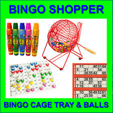 Bingo Cage Machine Tray & Balls Free 15ml Bingo Dabbers or Bingo Flyers