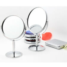 Beauty Makeup Cosmetic Mirror Double-Sided Normal and Magnifying Stand Mirror