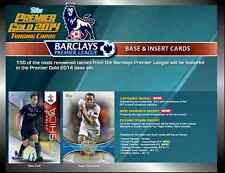2014 TOPPS PREMIER GOLD EPL FOOTBALL/SOCCER BASE CARDS (54-102) CHOOSE PLAYERS