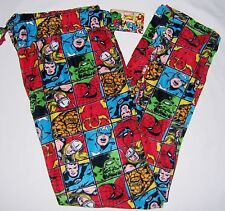 Men's Big & Tall MARVEL CHARACTERS Fleece PJ Pajama Lounge Pants 2X-4X 3066
