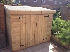 TOOL BIKE STORE SHED 16mm T&G Log Lap Heavy Duty FREE TANALISE & INSTALLATION