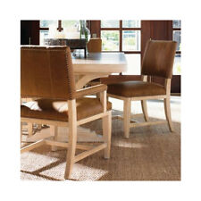 LEXINGTON TOMMY BAHAMA ROAD TO CANBERRA BRISBANE LEATHER DINING CHAIR SET OF 6