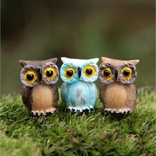 Micro World green potted landscape Bird owl Home garden decoration ornaments DIY