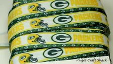 "7/8"" Green Bay Packers Grosgrain Ribbon"
