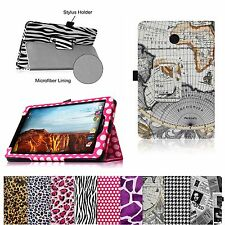 Leather Case Stand Cover for Verizon Ellipsis 8 4G LTE Tablet with Stylus Holder