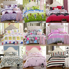 Popular Cute Soft Bedding Set Twin Full Cover&Pillow Case&Bedspread Bed Sets