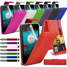 Vodafone Smart 4 Turbo Stylish Funky Pull Tab Flip Wallet Hard Cases & Covers