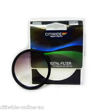 Citiwide CW 52/55/58/62/67/72/77 mm Graduated Grey Color Special Effect Filter