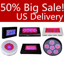 LED Grow Light 225W/120W/240W UFO Panel Hydroponic For Plant Flower Red Lamp