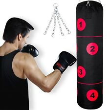 Punch Bags Heavy Duty Punching Boxing Kick Punchbags Karate MMA Gym