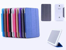 Ultra Slim Leather transparent hard shell bumper Case BOOK Cover For All Tabelt