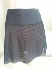 SWIM SKIRT MESH *XMAS SPECIAL free p&p*covers problem areas, BLACK Sizes 8 to 24