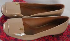 $265 NWB Tory Burch YARDLEY  Ballet Flats Camellia Pink Patent  Leather Size 5.5