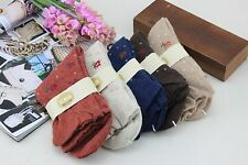 Five Pair Women's Warm Wool Socks for Winter/Spring Floral Print 20% Off!
