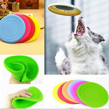 Frisbee Flying Disc Tooth Resistant Outdoor Large Dog Training Fetch Pet Toy
