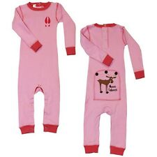 Lazy One Flapjack Infant Girls Pink Moose Caboose