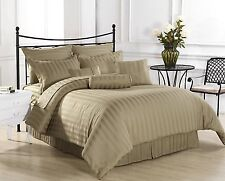 Canadian Bedding Items)- HOTEL COLLECTION TAUPE 1000TC 100%EGYPTIAN COTTON